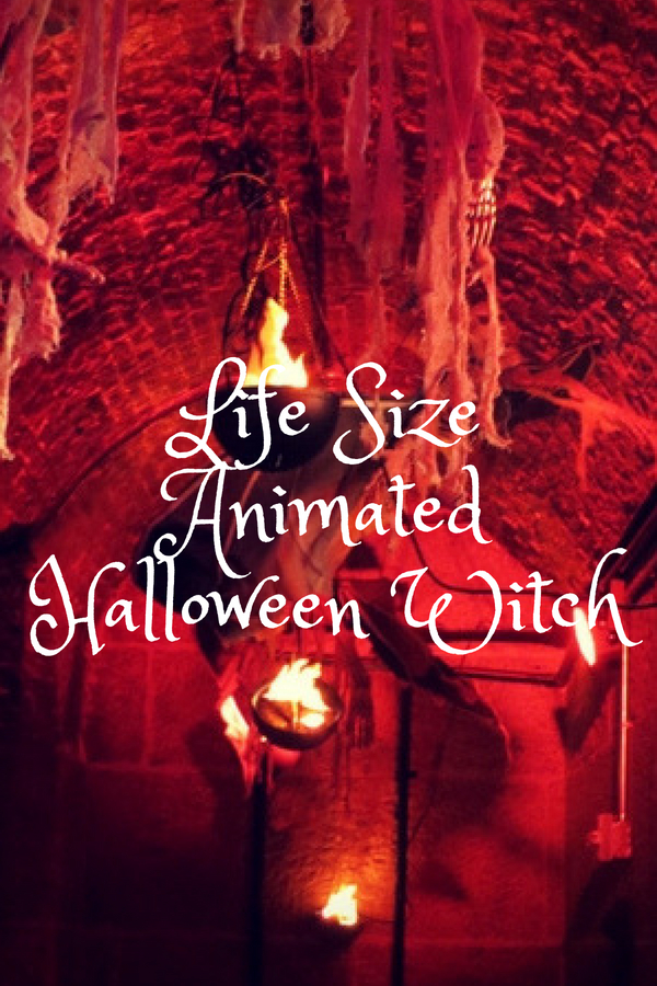 Best Life Size Animated Halloween Witch