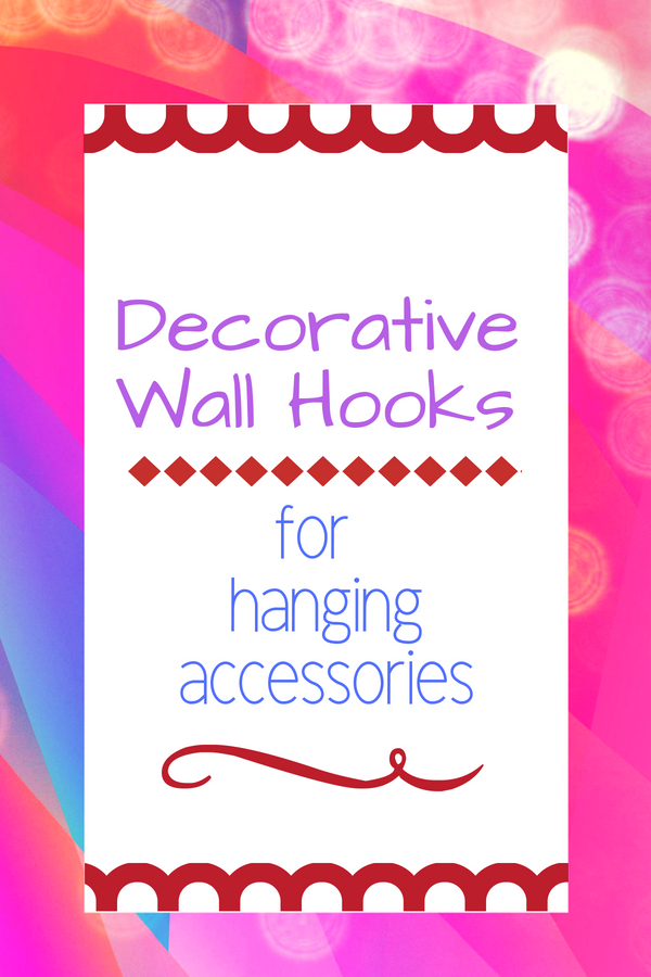 Decorative Wall Hooks for Hanging
