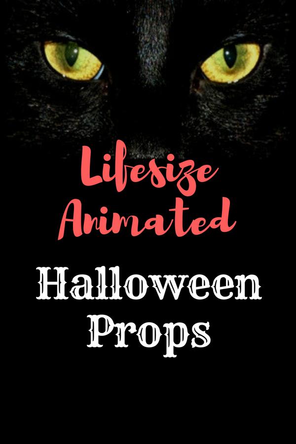 Lifesize Animated Halloween Props