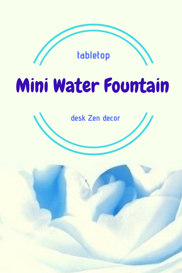 Mini Water Fountain for Desk