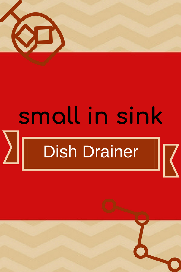 Small In Sink Dish Drainer