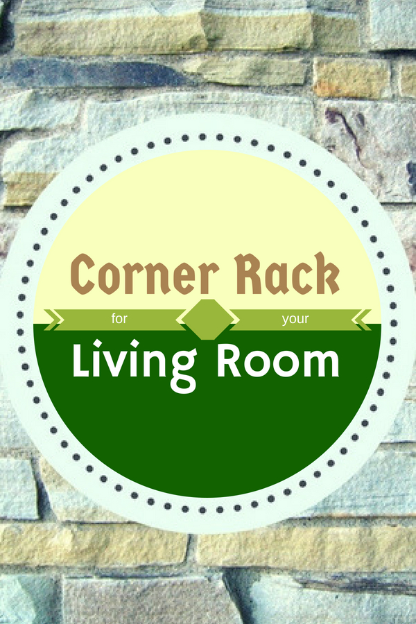 Corner Rack for Living Room