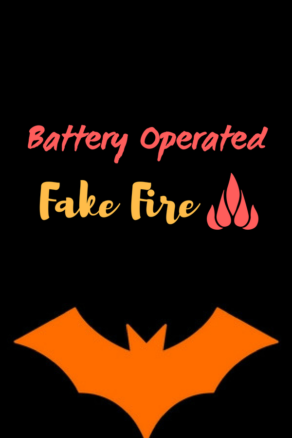 Battery Operated Fake Fire