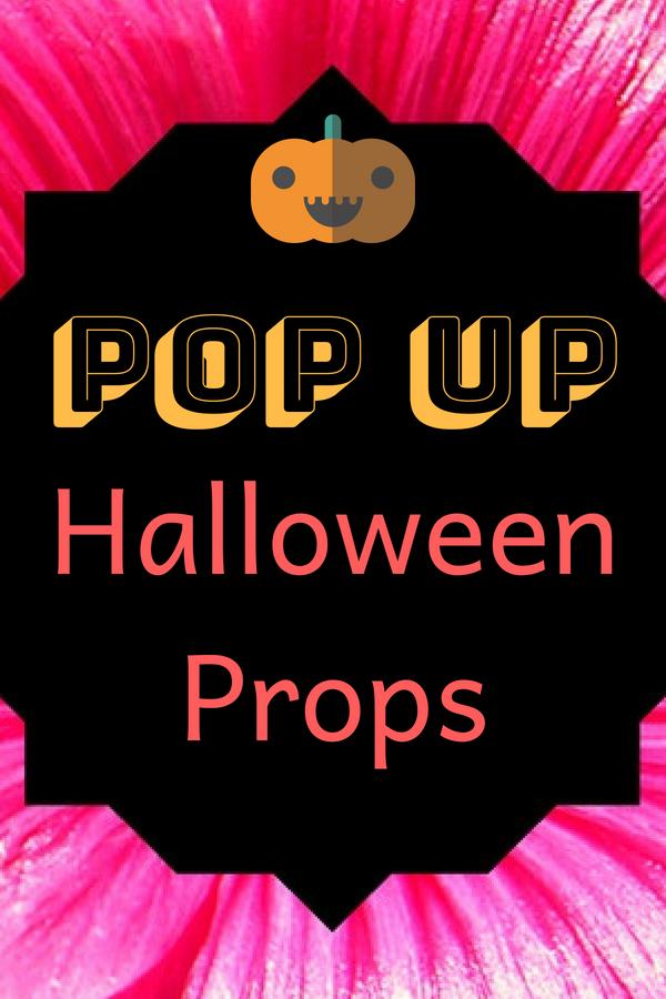 Pop Up Halloween Prop