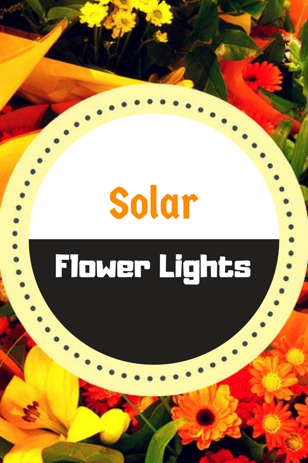 Solar Flower Lights Outdoor