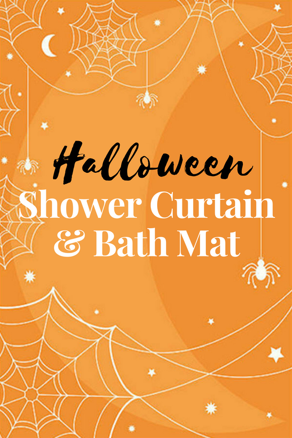 Halloween Shower Curtain Set