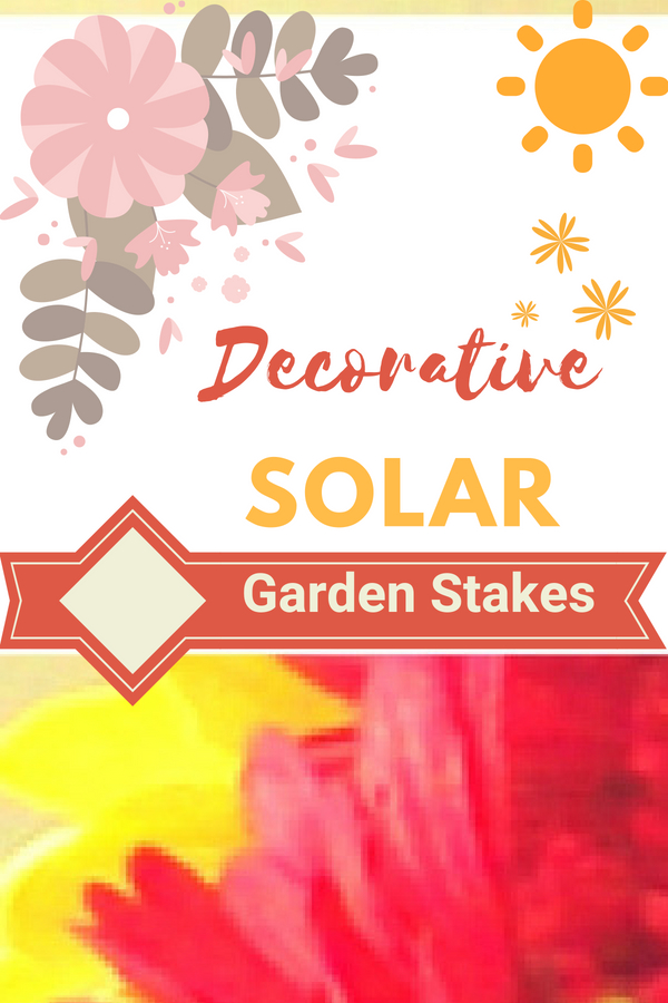 Decorative Solar Garden Stakes