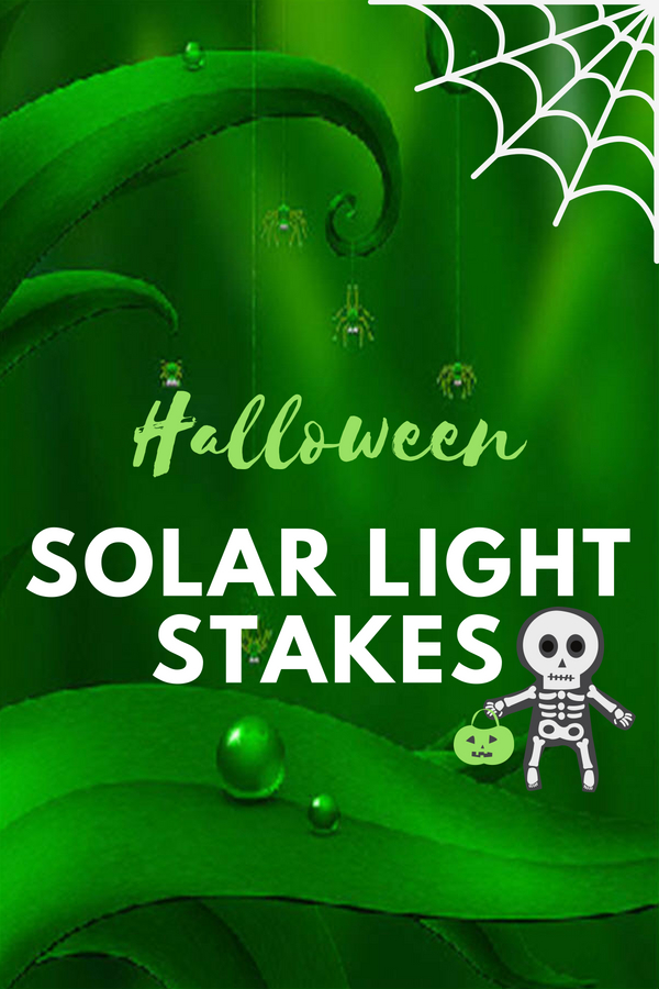 Halloween Solar Light Stakes