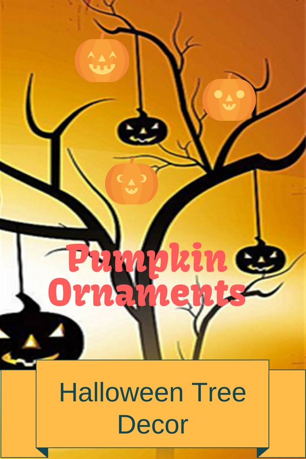 Pumpkin Ornaments for Tree