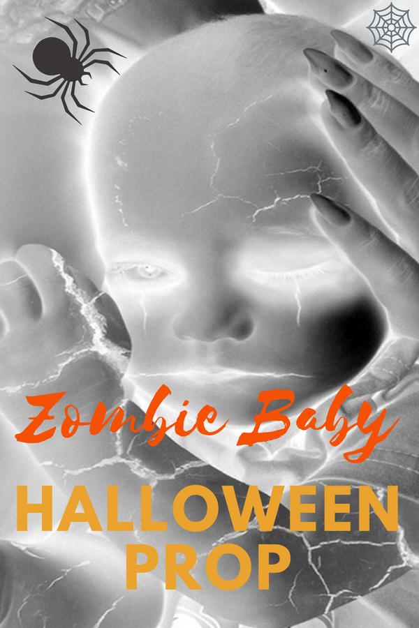 Zombie Baby Halloween Prop