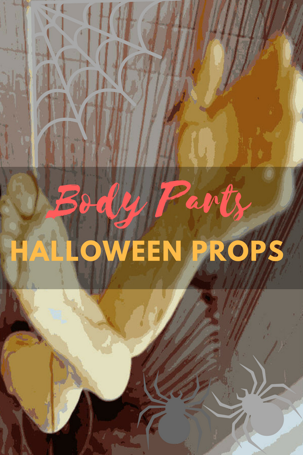 Halloween Decorations Body Parts