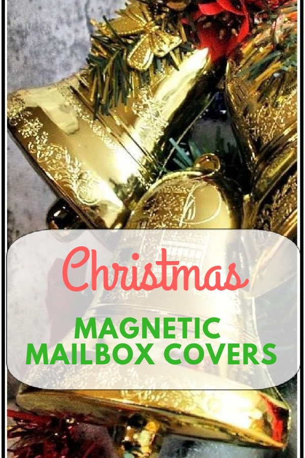 christmas magnetic mailbox covers cheery room
