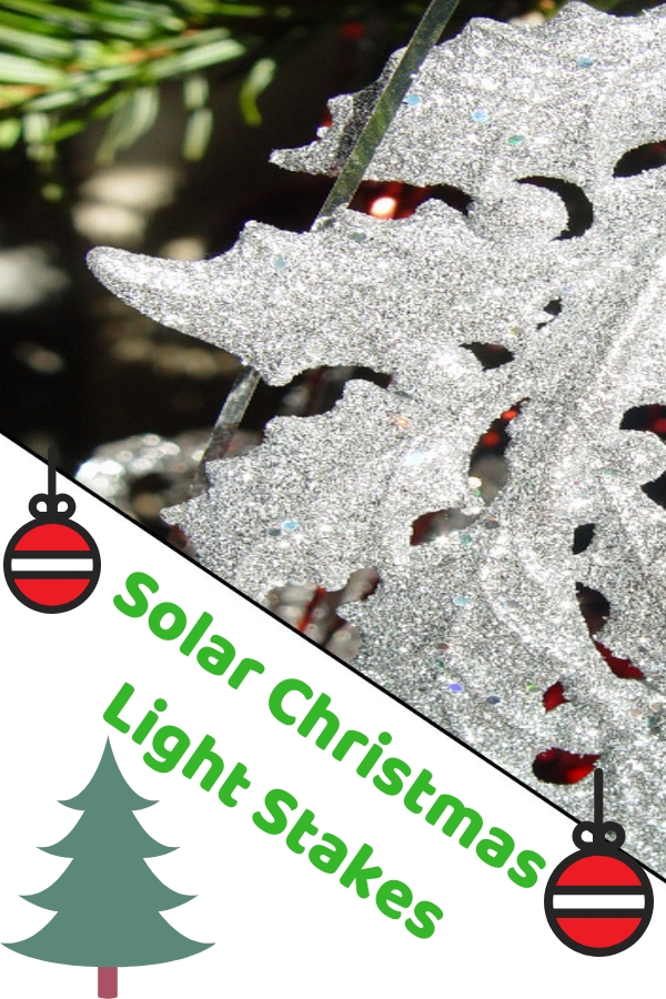 Solar Christmas Light Stakes