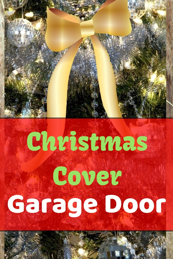 Garage Door Christmas Cover