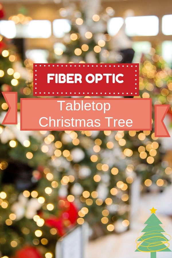 Tabletop Fiber Optic Christmas Tree