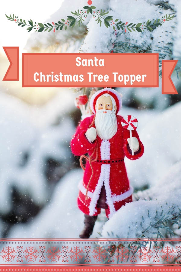 santa christmas tree topper cheery room