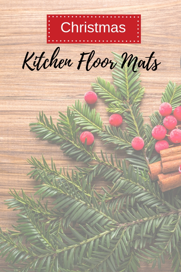 Christmas Kitchen Floor Mats
