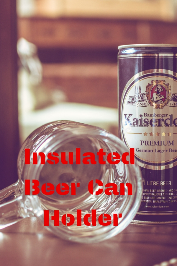 Insulated Beer Can Holder