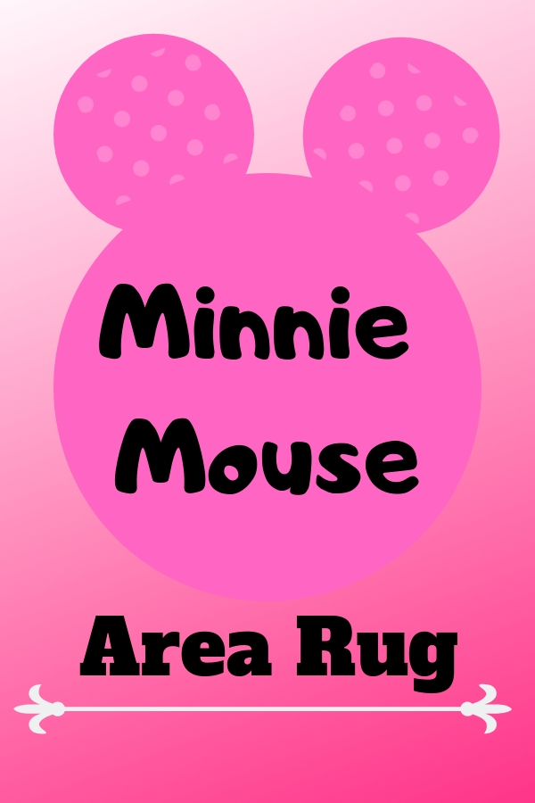 Minnie Mouse Area Rug