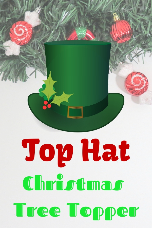 Top Hat Christmas Tree Topper