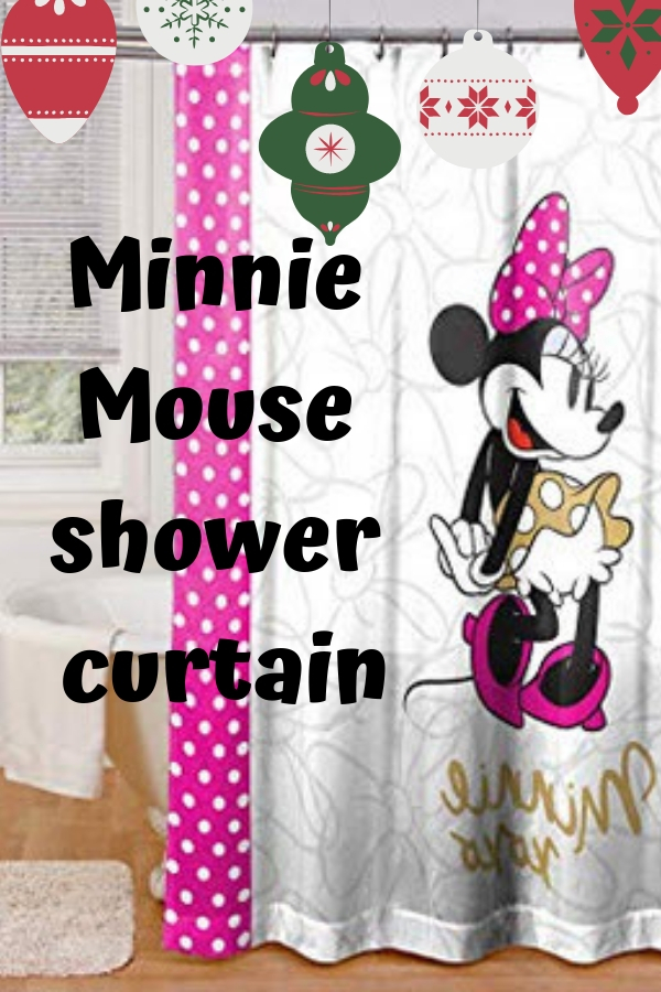 Minnie Mouse Shower Curtain