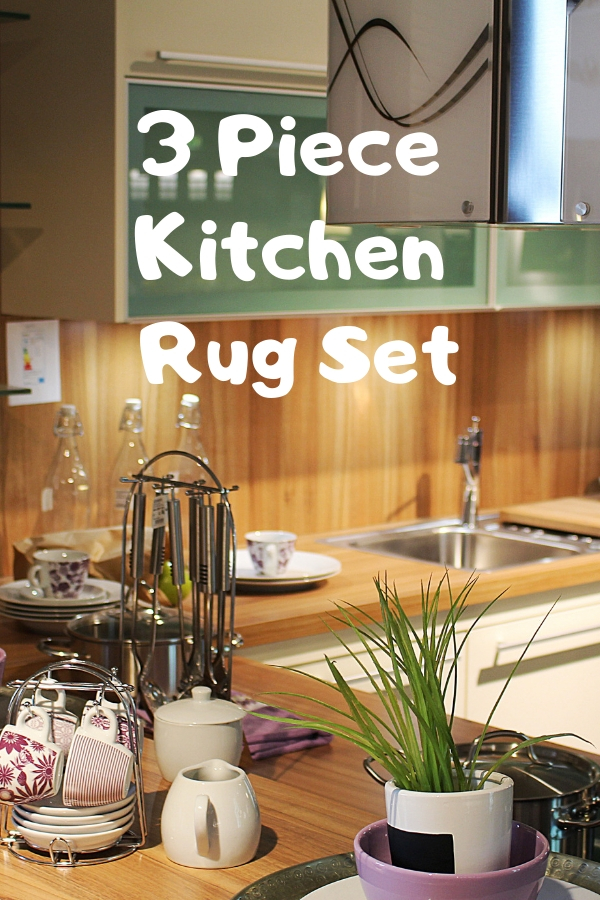3 Piece Kitchen Rug Set | Cheery Room