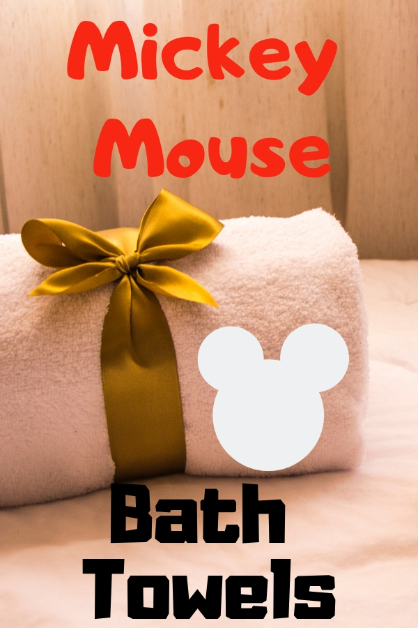 Mickey Mouse Bath Towels