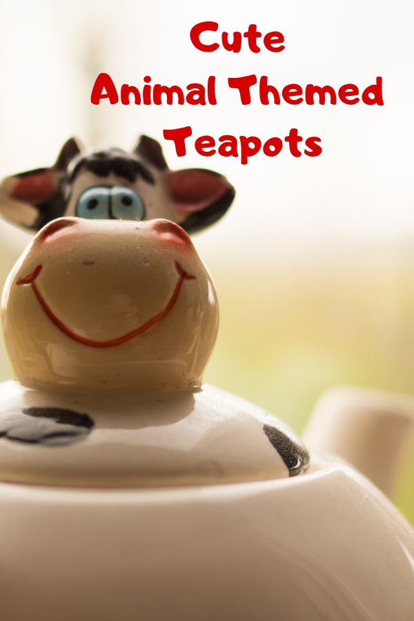 Cute Animal Themed Teapots