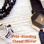 Cheval Free-Standing Jewelry Armoire with Mirror