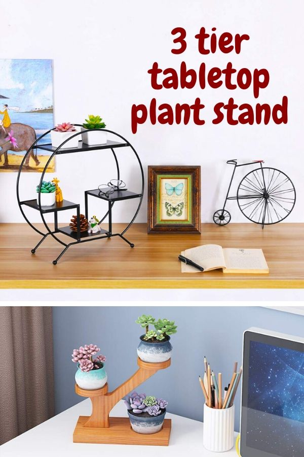 3 Tier Tabletop Plant Stand
