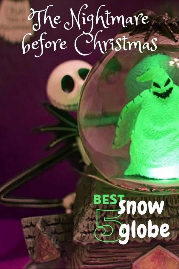 Nightmare Before Christmas Snow Globes