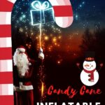 Candy Cane Inflatable Archway