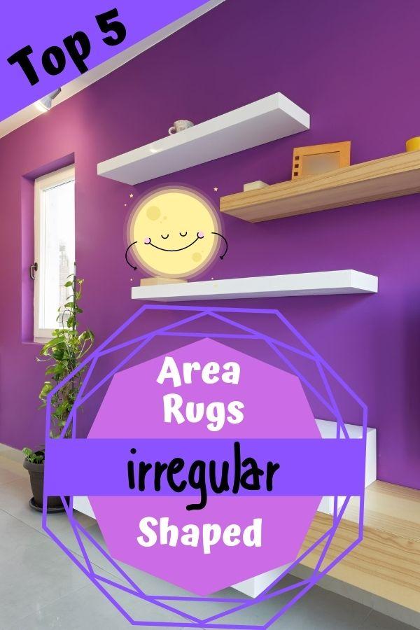Irregular Shaped Area Rugs