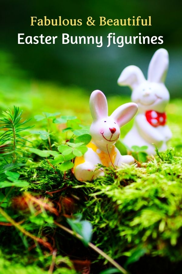 Resin Easter Bunny Figurines