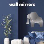 animal shaped wall mirrors