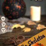 Blow Up Halloween Skeleton
