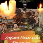 Artificial Halloween Plants and Flowers