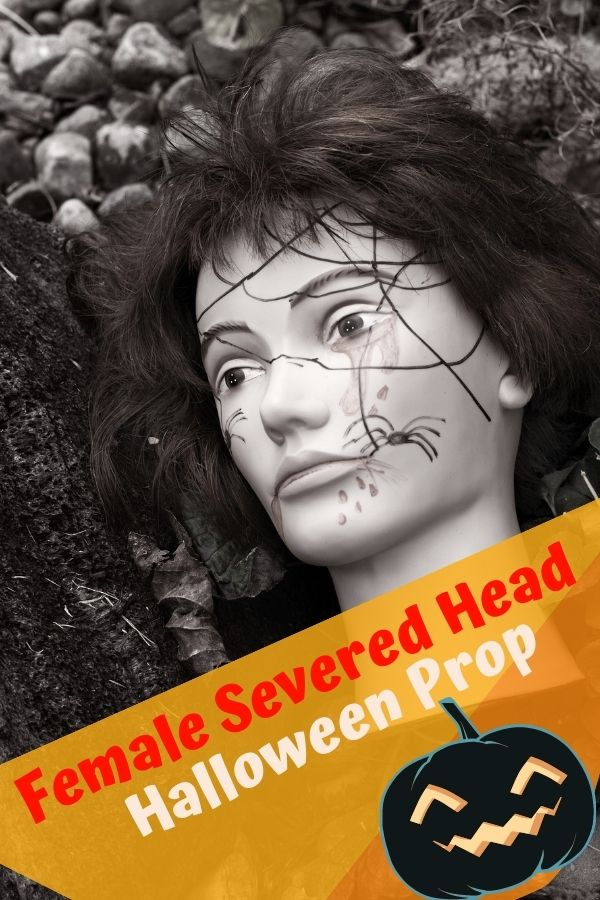 Female Severed Head Prop