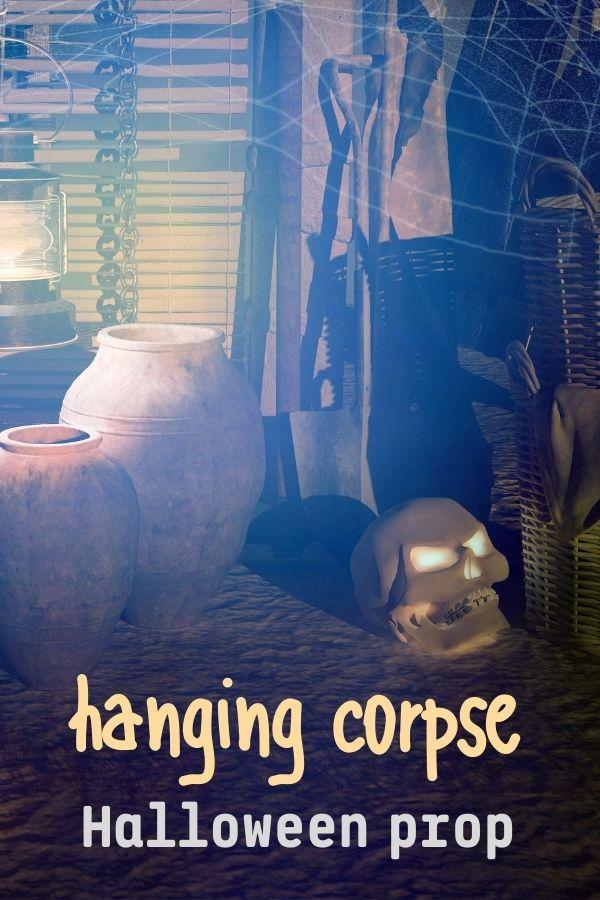 Hanging Corpse Halloween Prop