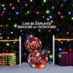 floor standing christmas balls