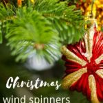 christmas win spinners for yard